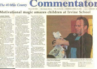 Motivational magic amazes children