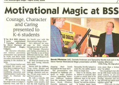 Motivational Magic at BSS