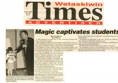 Magic captivates students