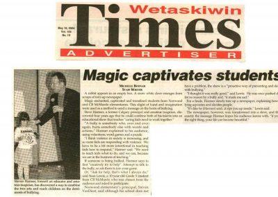 Magic captivates students